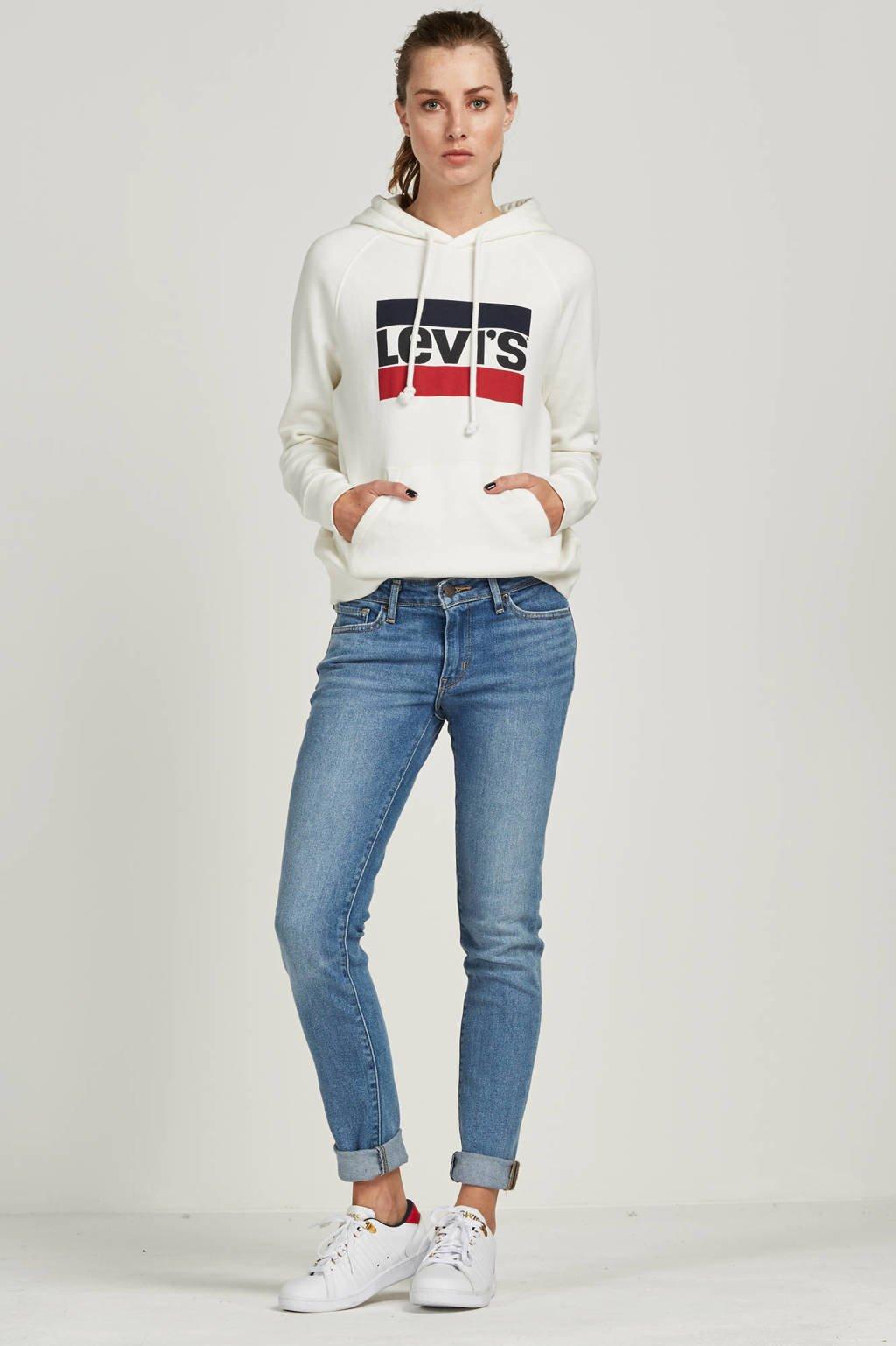 Levi's Graphic sport hoodie Marshmallow
