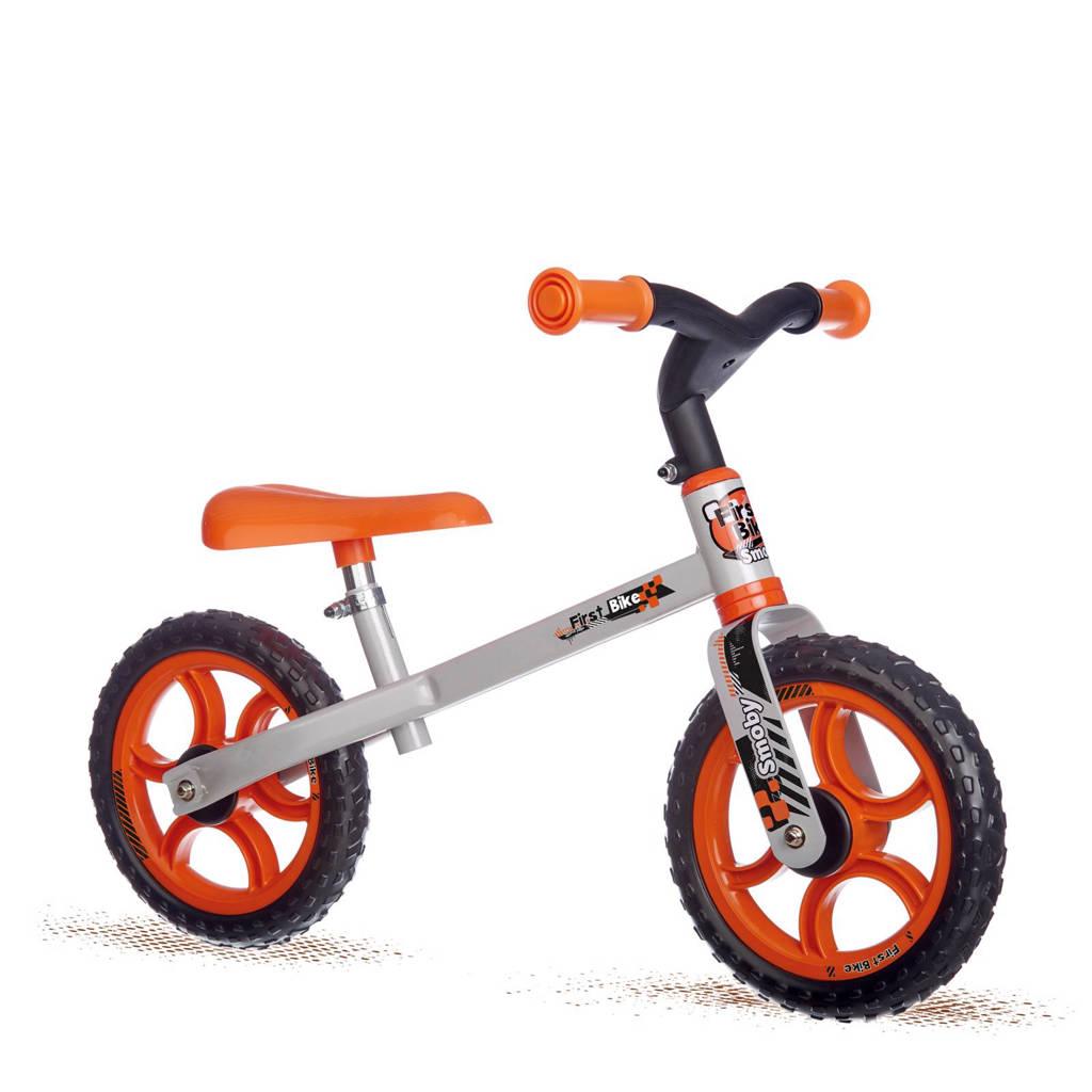 Smoby First Bike loopfiets, Oranje