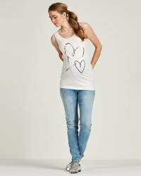 LOVE2WAIT skinny zwangerschapsjeans, Light denim blue