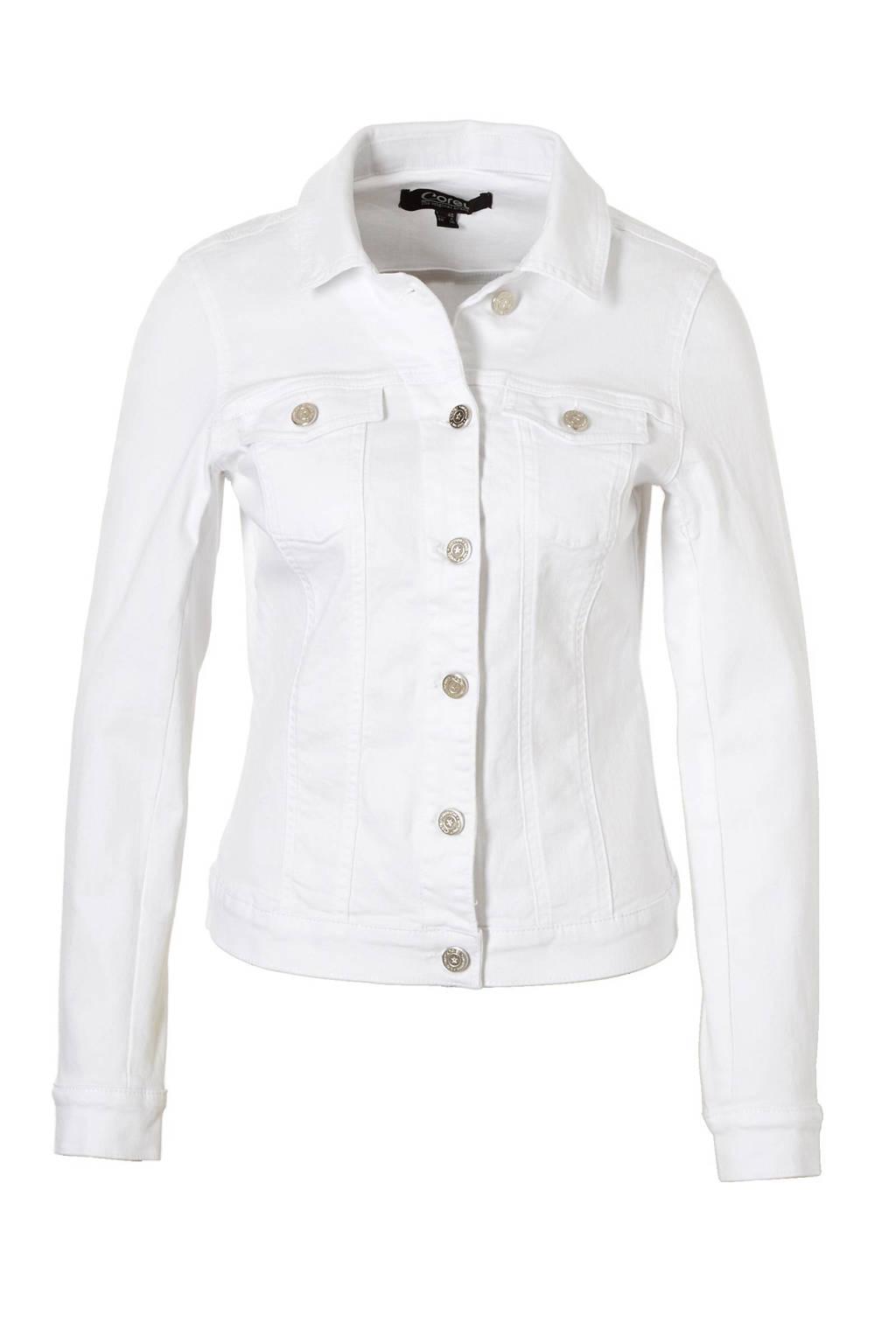 Corel spijkerjasje, Wit