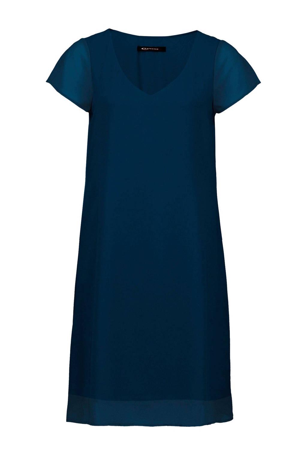 Expresso jurk, Blauw