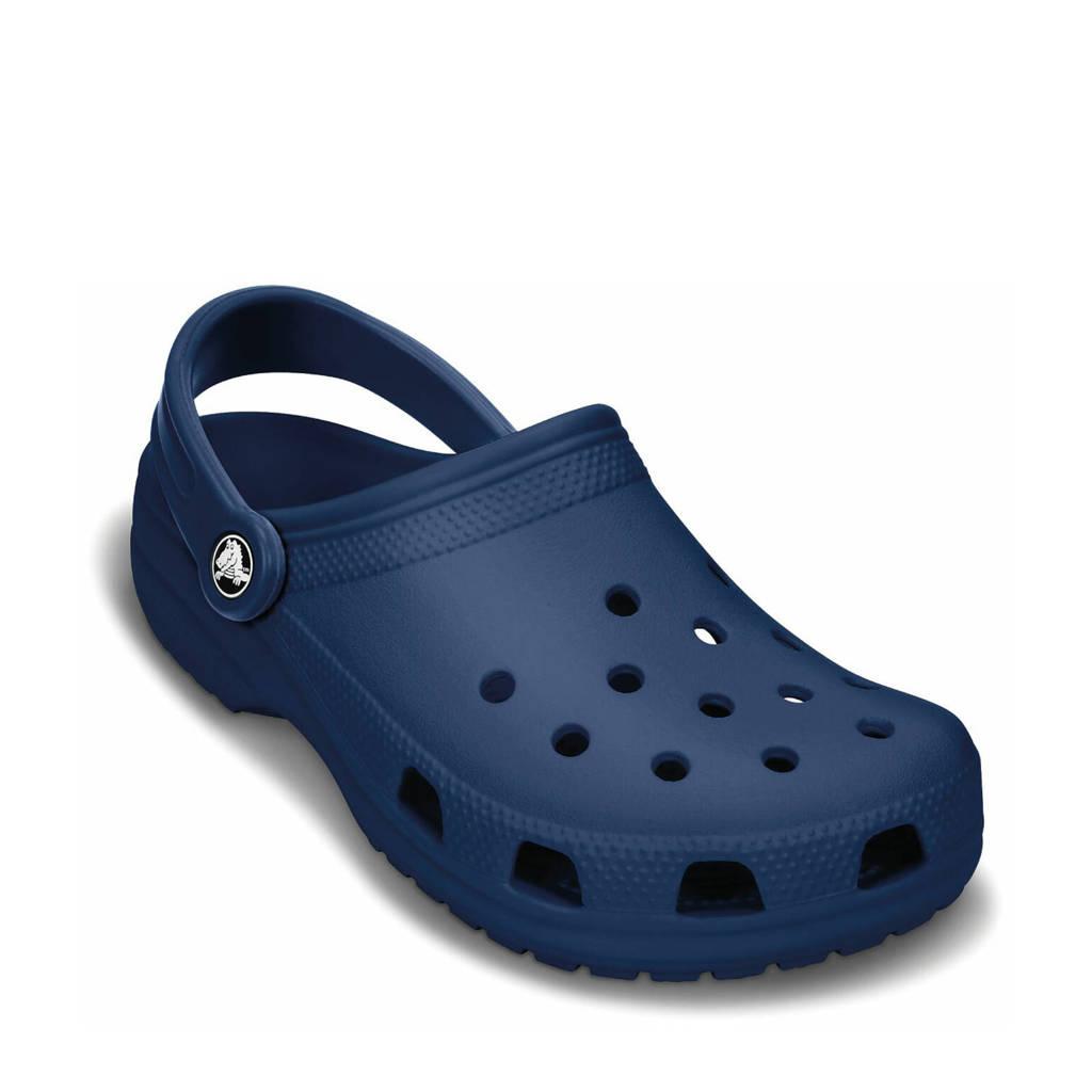 Crocs   Classic sandalen blauw, Donkerblauw