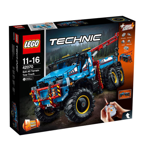 Lego Technic All Terrain Sleepwagen