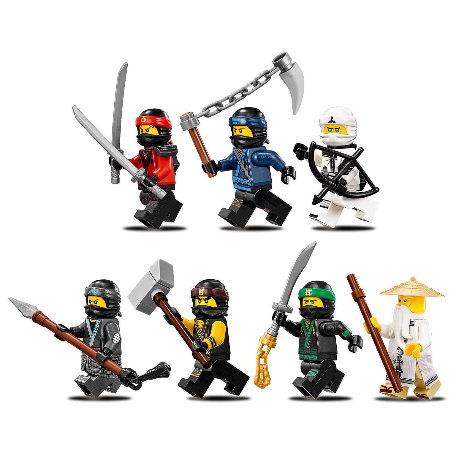 Spiksplinternieuw LEGO Ninjago Destiny's Bounty 70618 | wehkamp XN-44