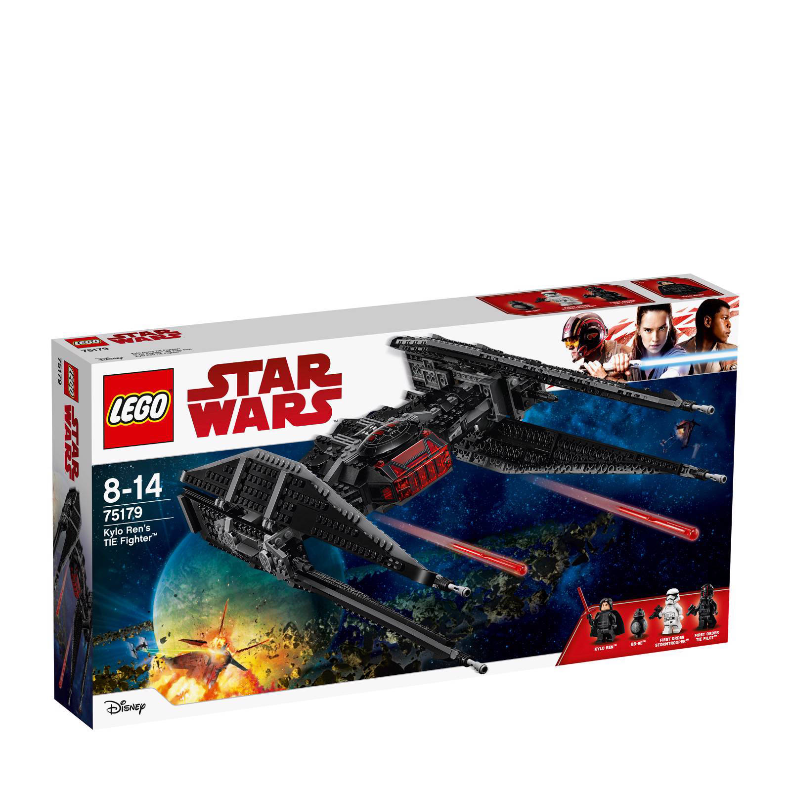 LEGO Star Wars Star Wars Kylo Ren's TIE Fighter 75179