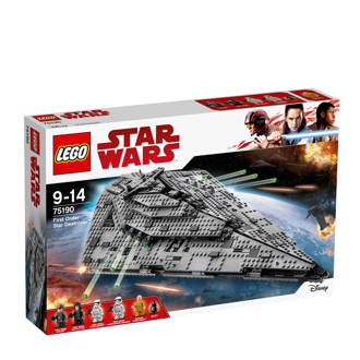 Star Wars First Order Star Destroyer 75190
