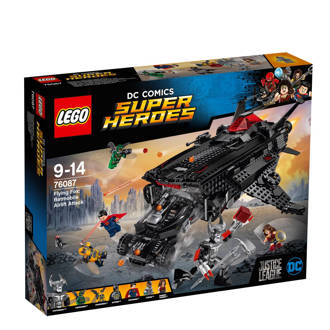 Super Heroes Flying Fox: Batmobile luchtbrugaanval  76087