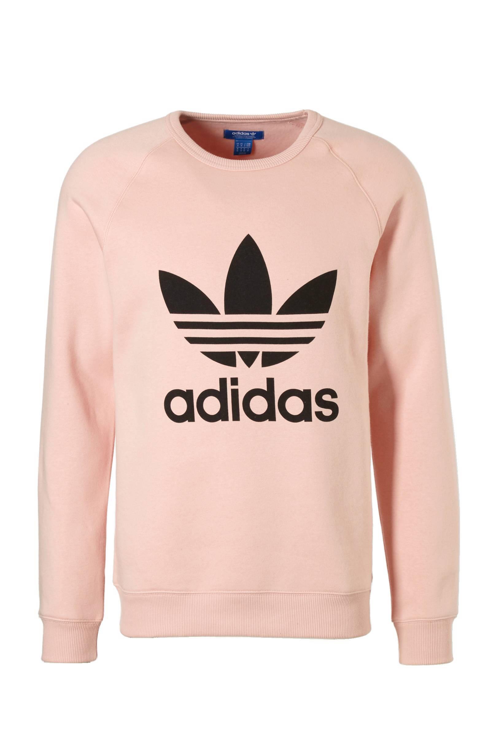 adidas sweater roze
