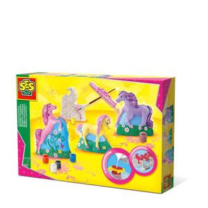gieten en schilderen - 3 paarden
