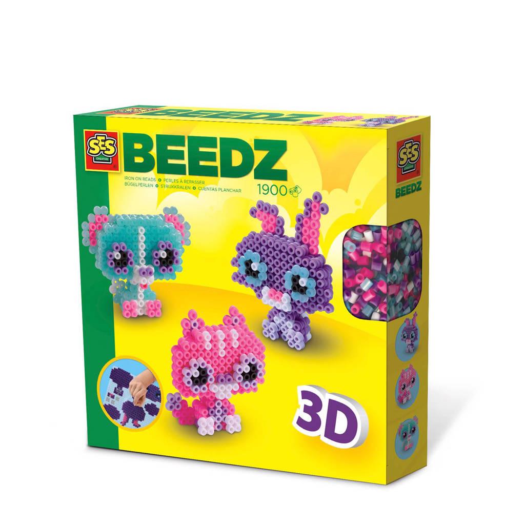 SES Beedz 3D Dierenvriendjes