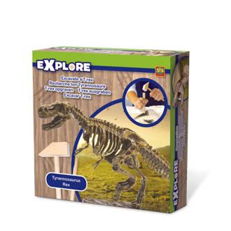 Explore  bikken dino skelet T-Rex