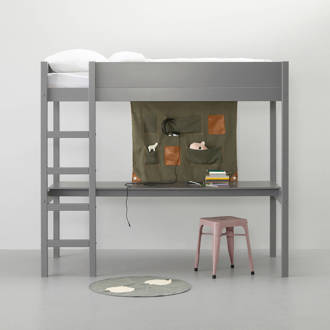 hoogslaper incl. bureau Charlie (90x200 cm)