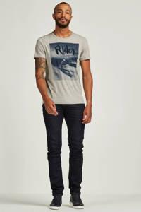 Vanguard regular fit jeans V7 Rider, Donkerblauw
