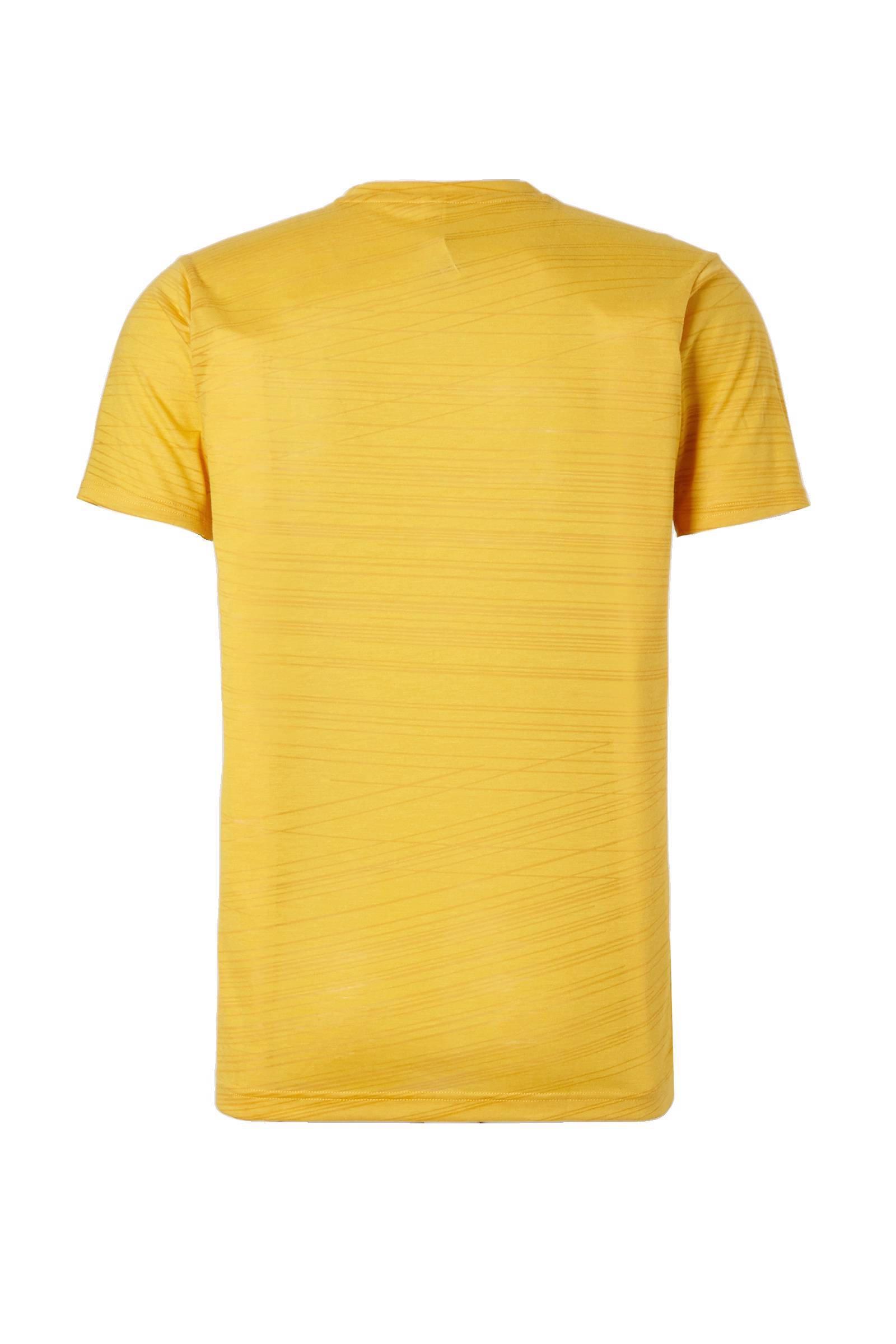 adidas Performance sport T-shirt geel