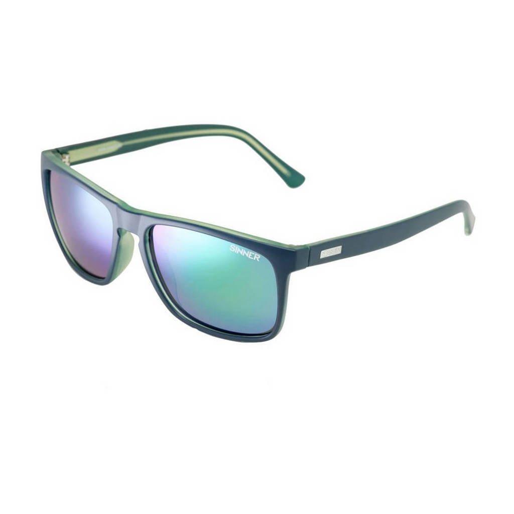Sinner zonnebril Oak SISU-719-50-P28, Donkerblauw/groen