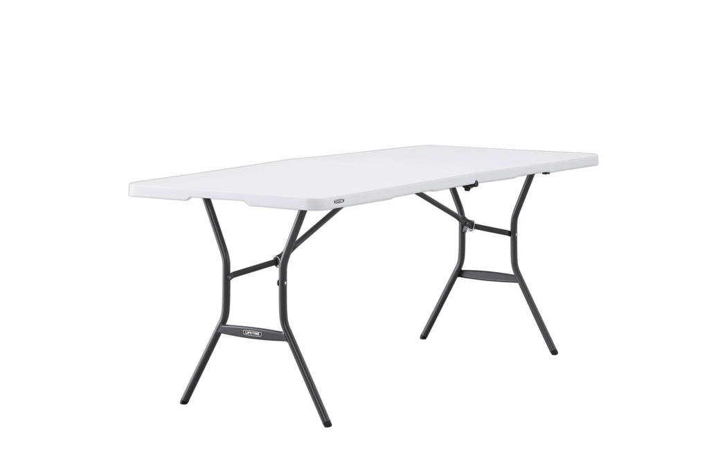 Witte Uitklapbare Tafel.Lifetime Inklapbare Tafel Wehkamp