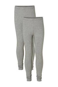 whkmp's own legging (set van 2), Grijs melange