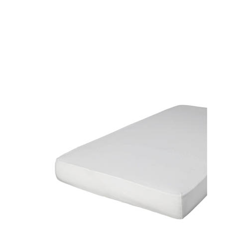 Hoeslaken Jersey 90-100x200-220 cm katoen off white