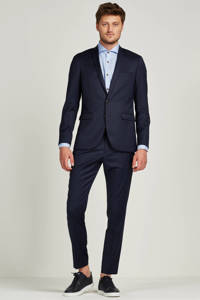 Matinique George F regular fit colbert, Navy