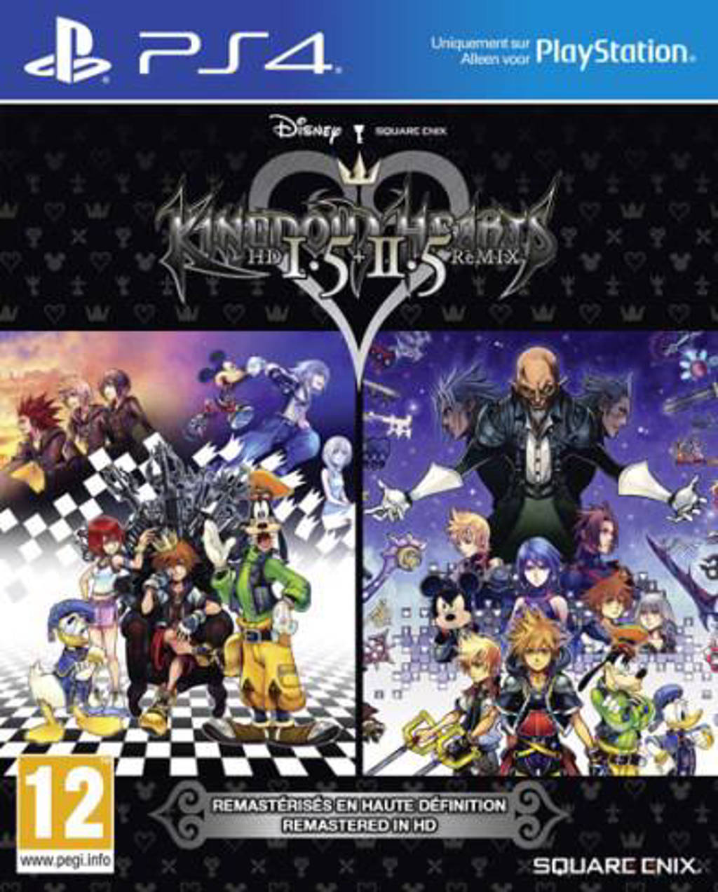 Kingdom hearts hd 1.5 + 2.5 remix (PlayStation 4)