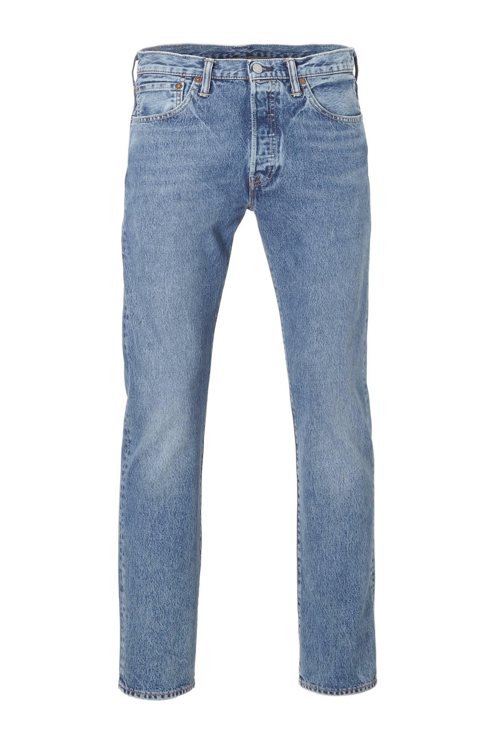 Levi's 501 original regular fit jeans (heren)