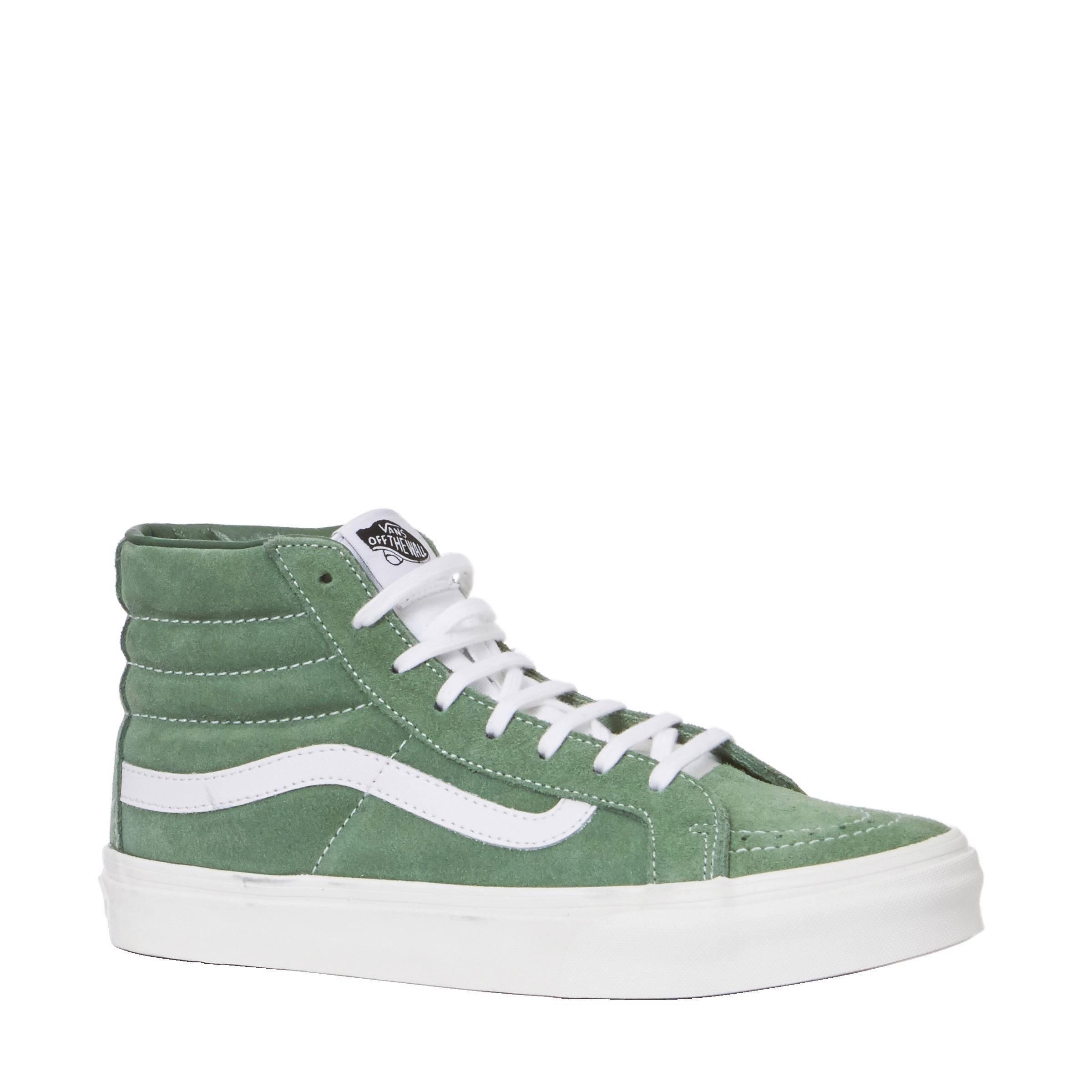 vans sk8 hi groen
