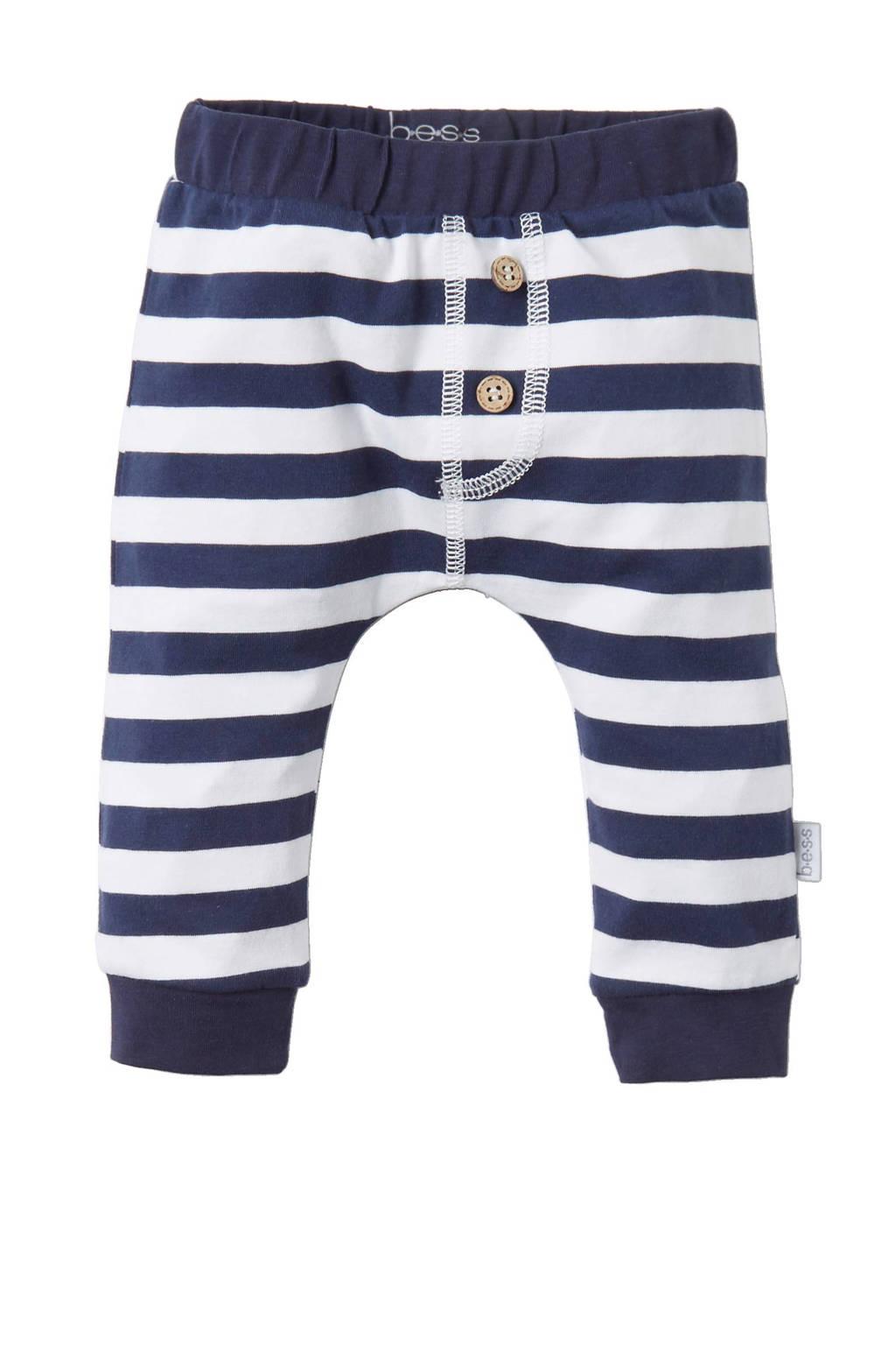 B.E.S.S newborn baby broek, Blauw