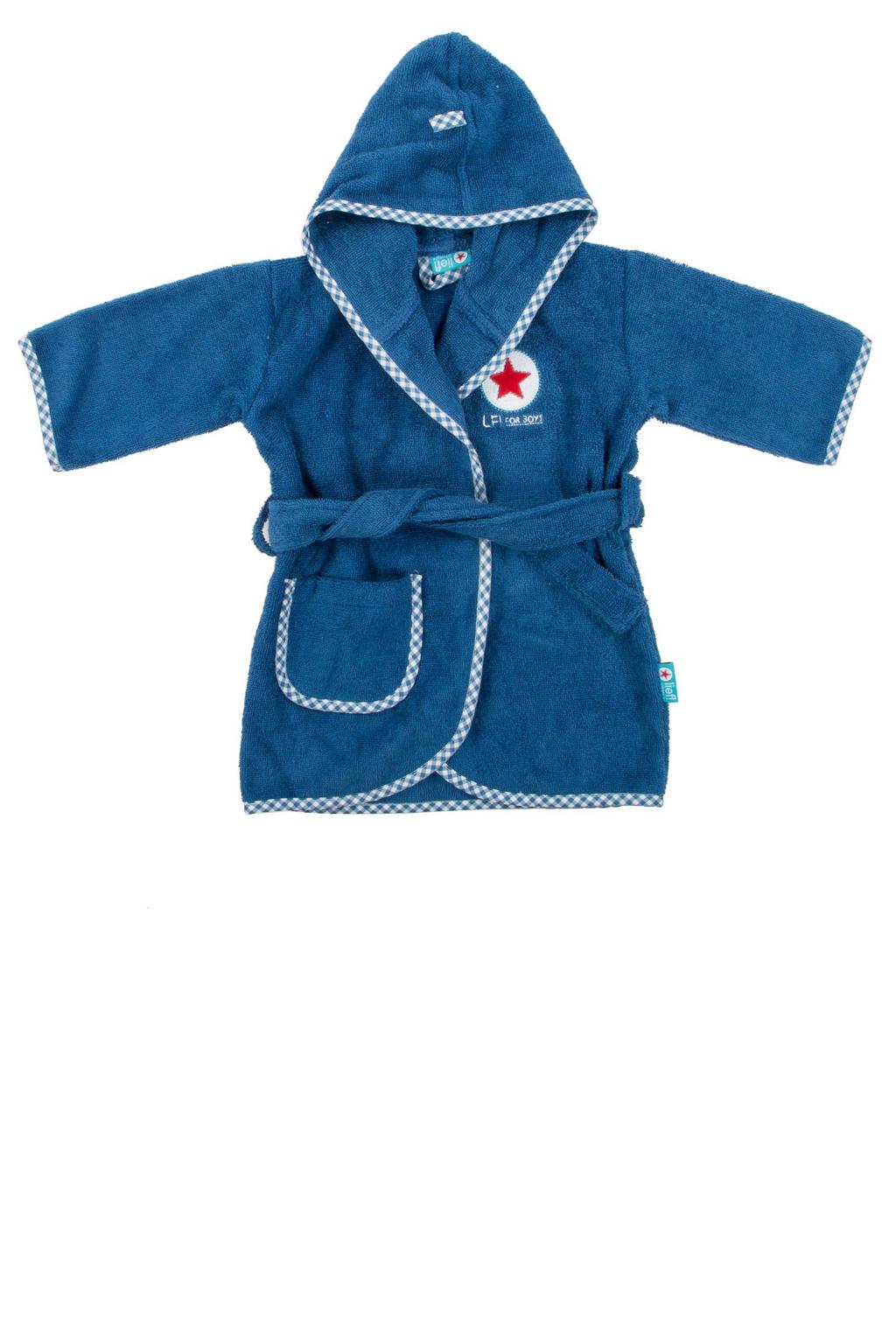 lief!   badjas 0-12 mnd blauw, Blauw