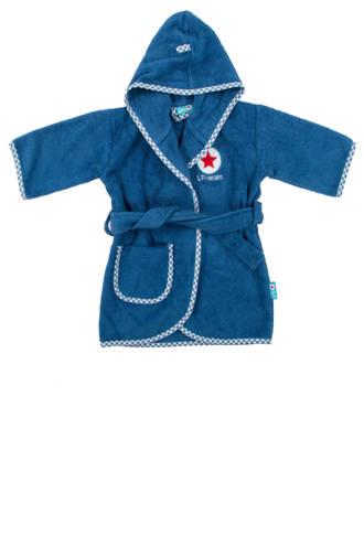 badjas 1-2 jaar blauw