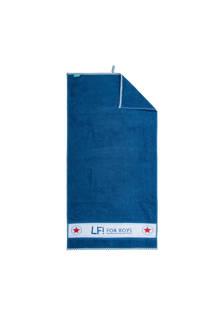 lief! badhanddoek 50x90 cm blauw