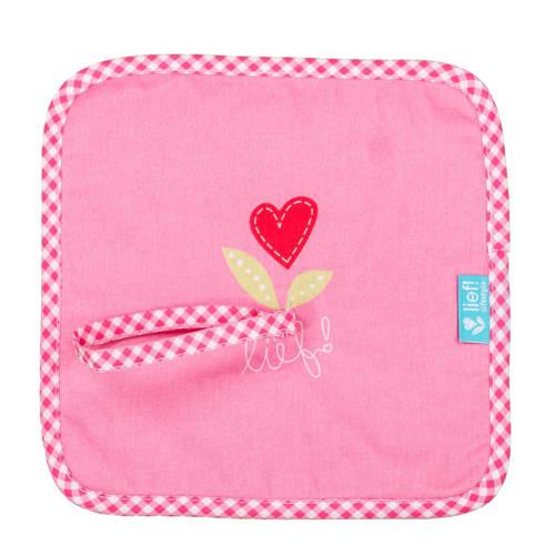 lief! speendoekje roze knuffeldoekje kopen
