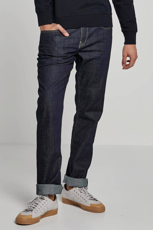 WE Fashion Blue Ridge regular fit jeans, Donkerblauw