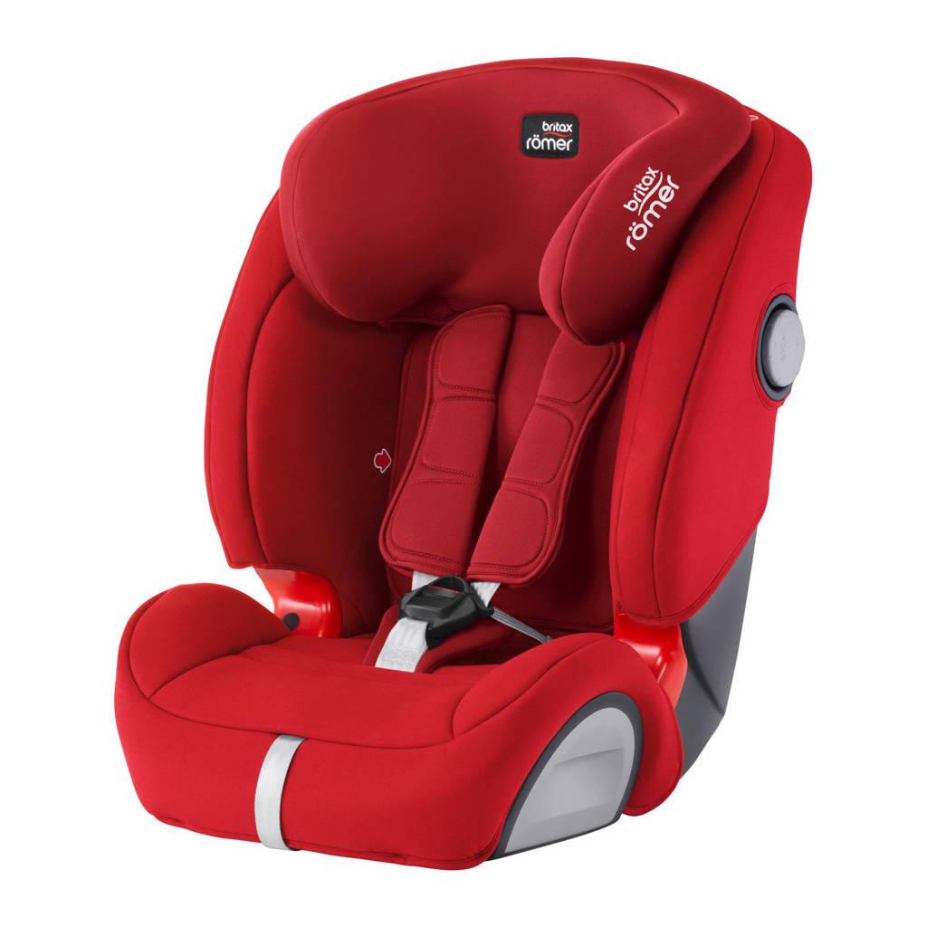 Britax Römer EVOLVA 1-2-3 SL SICT autostoel flame red, Flame Red