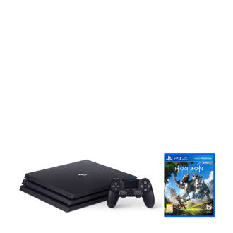 PlayStation 4 Pro 1TB zwart + Horizon Zero Dawn