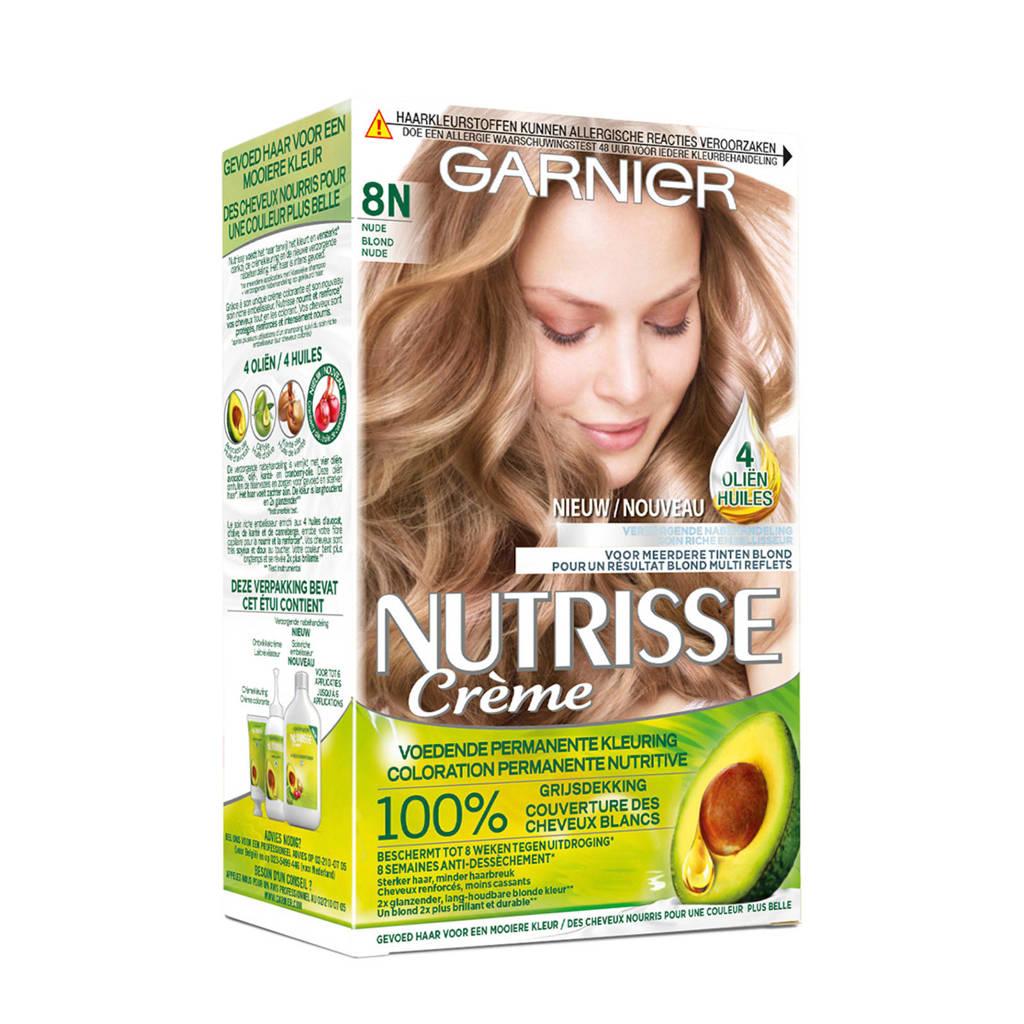 Garnier Nutrisse Crème Nude haarkleuring - 8N Blond