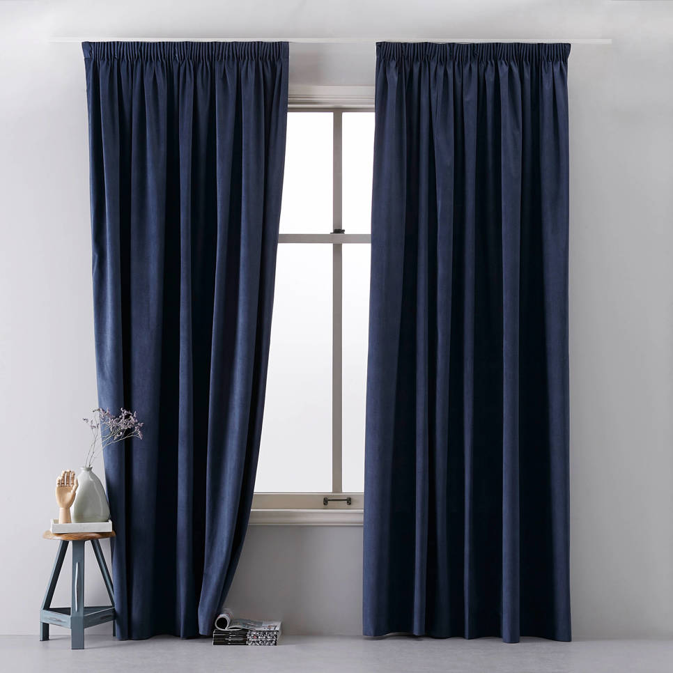 whkmps own lichtdoorlatend gordijn 140x270 cm denim blauw
