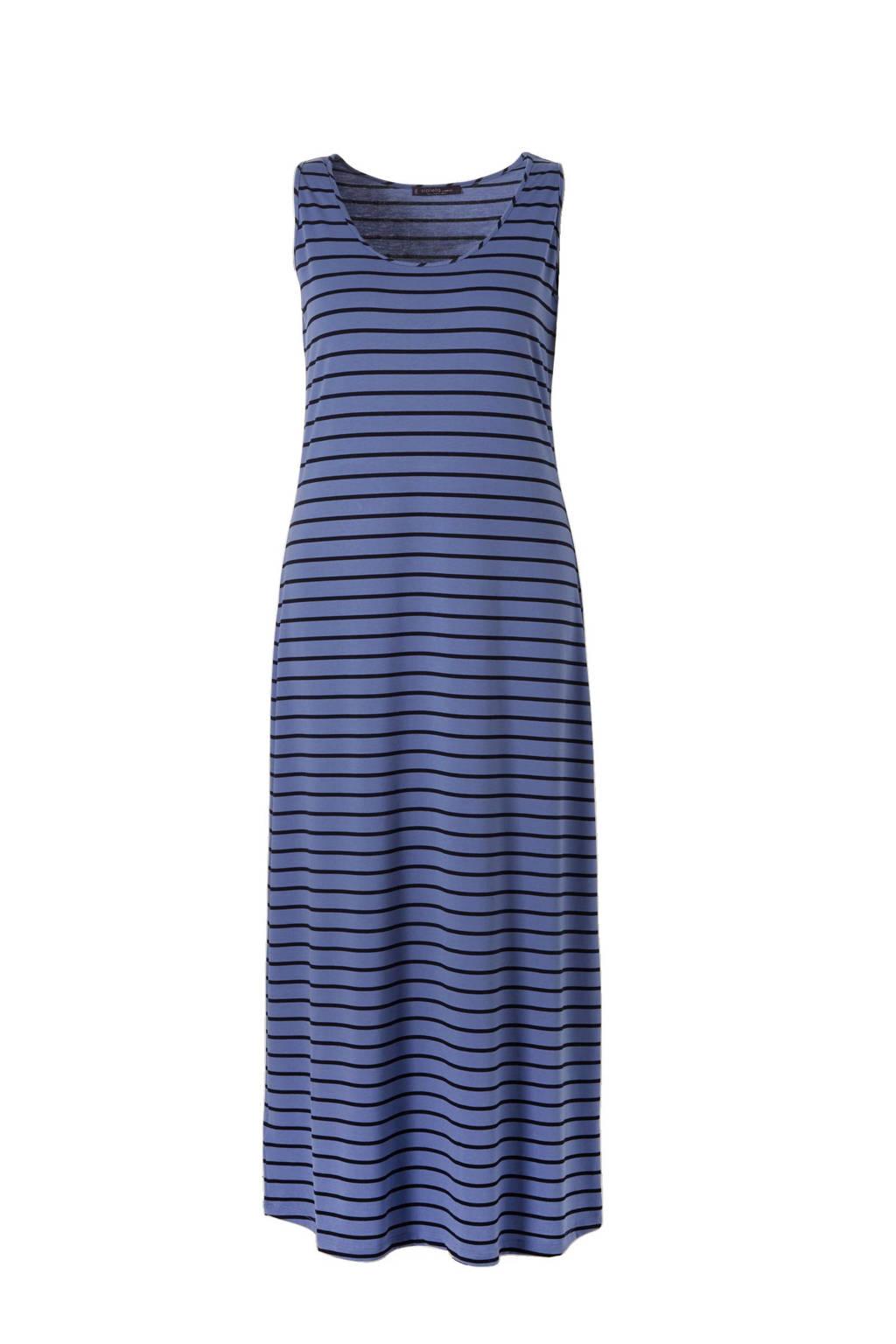 Violeta by Mango maxi jurk, middenblauw