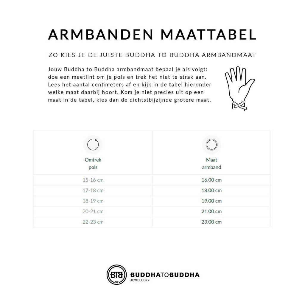 Buddha To Buddha Armband Blauw.Armband