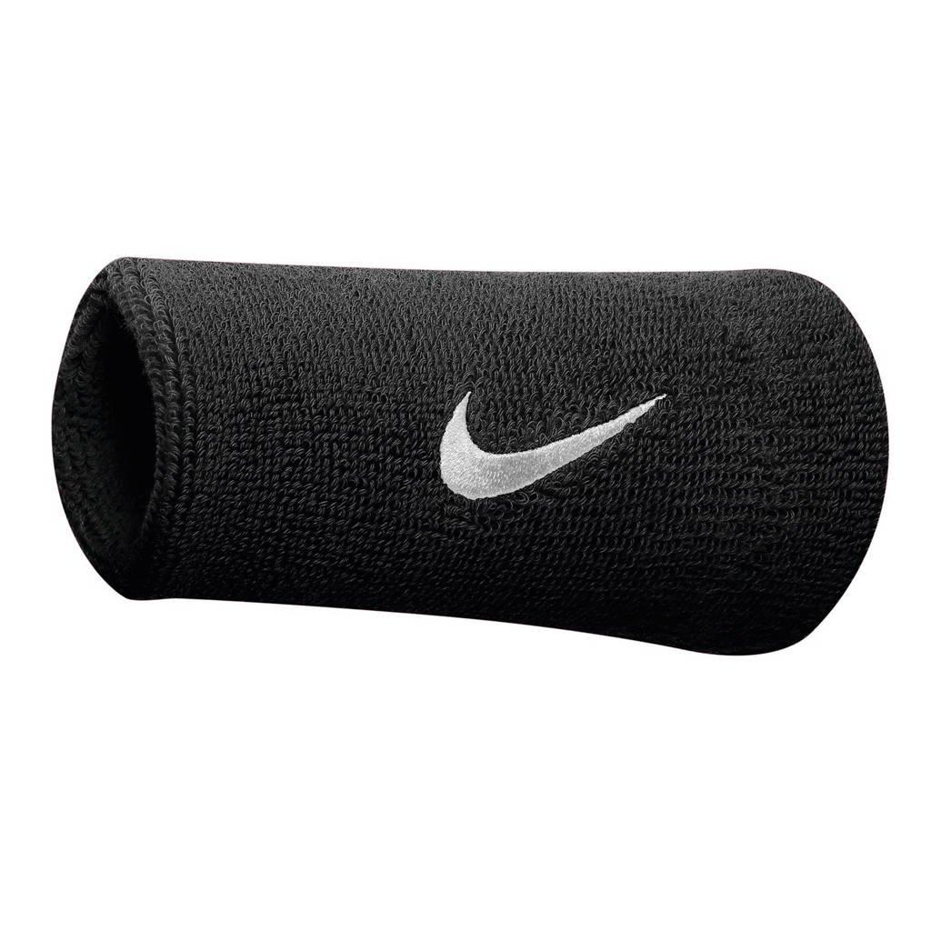 Nike   polsband (set van 2), Zwart/wit