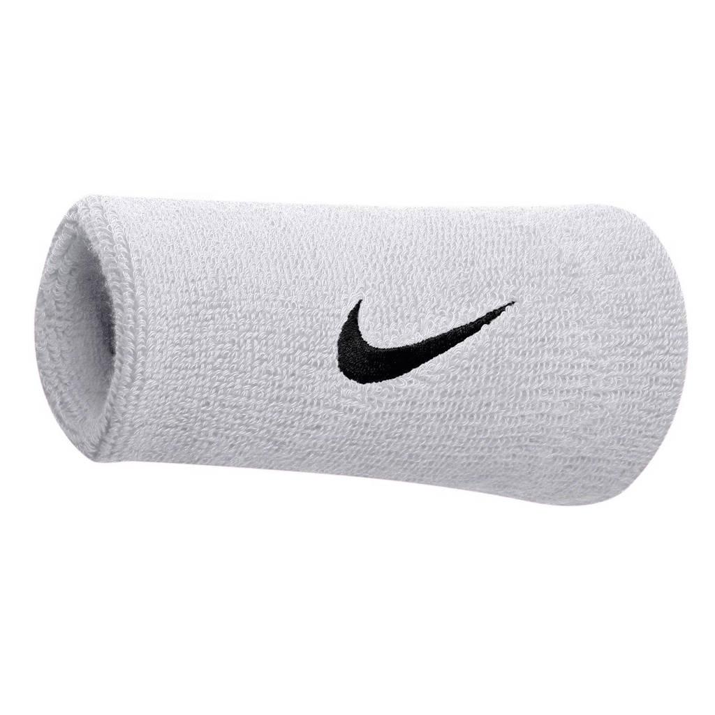 Nike   polsband (set van 2), Wit/zwart