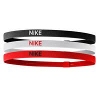 Nike   haarbandjes (set van 3), Zwart/wit/rood