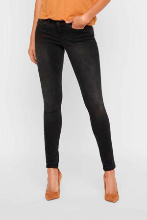 low waisted skinny fit jeans NMEVE black
