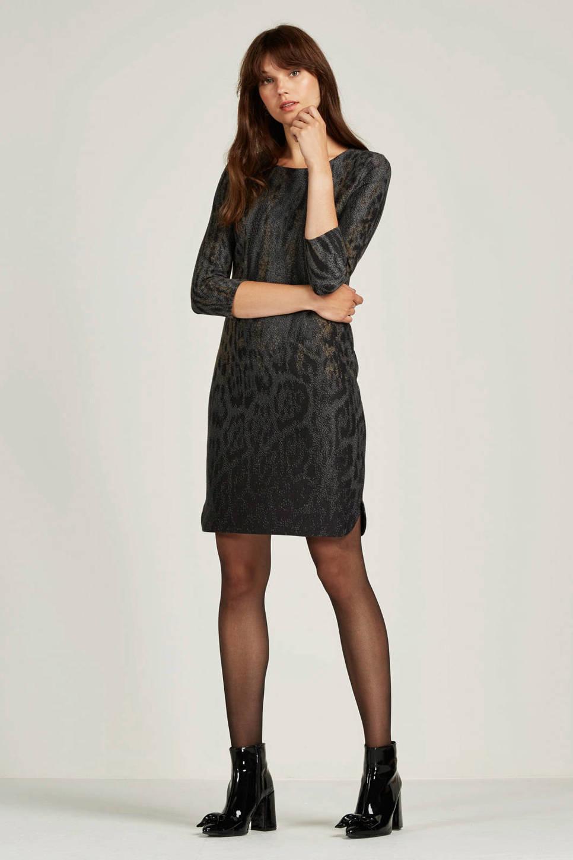 Geisha jurk, Black/Grey