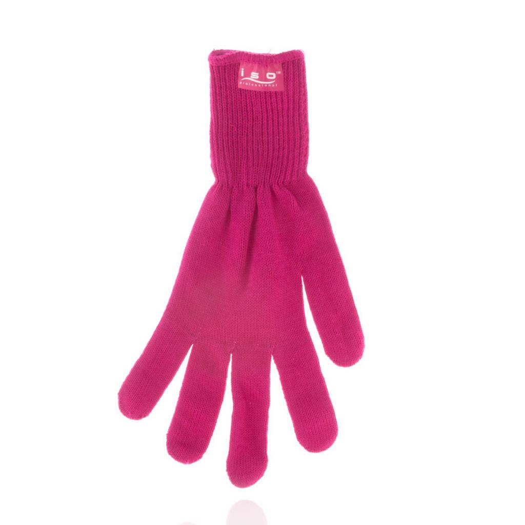 Iso Professional Hittebestendige Handschoen - roze, Roze