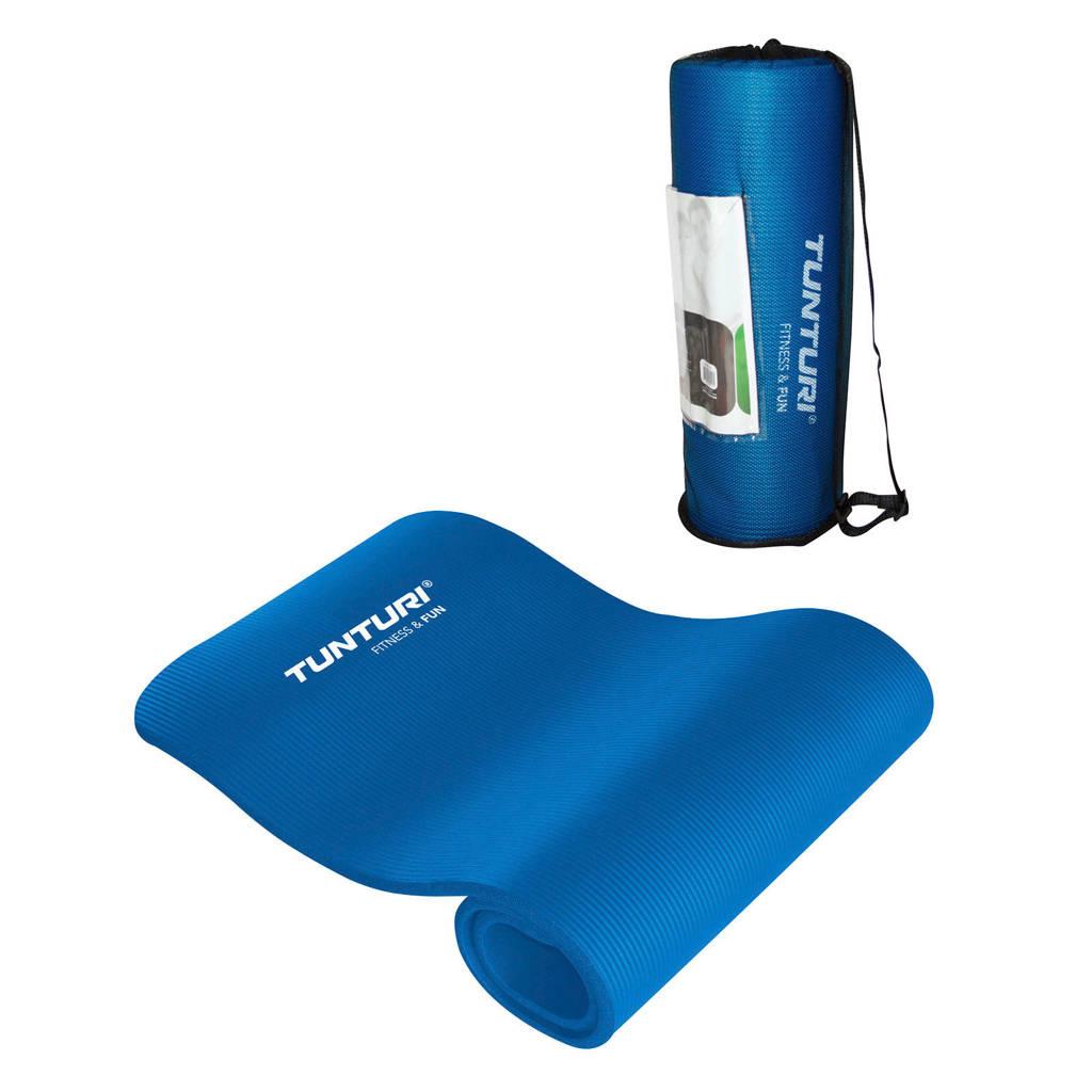 Tunturi NBR fitness mat, Blauw