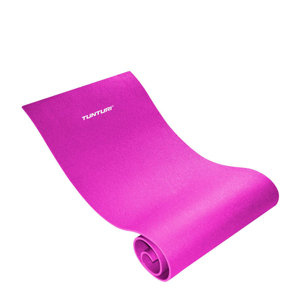 Tunturi XPE Fitnessmat - Oefenmat - Roze