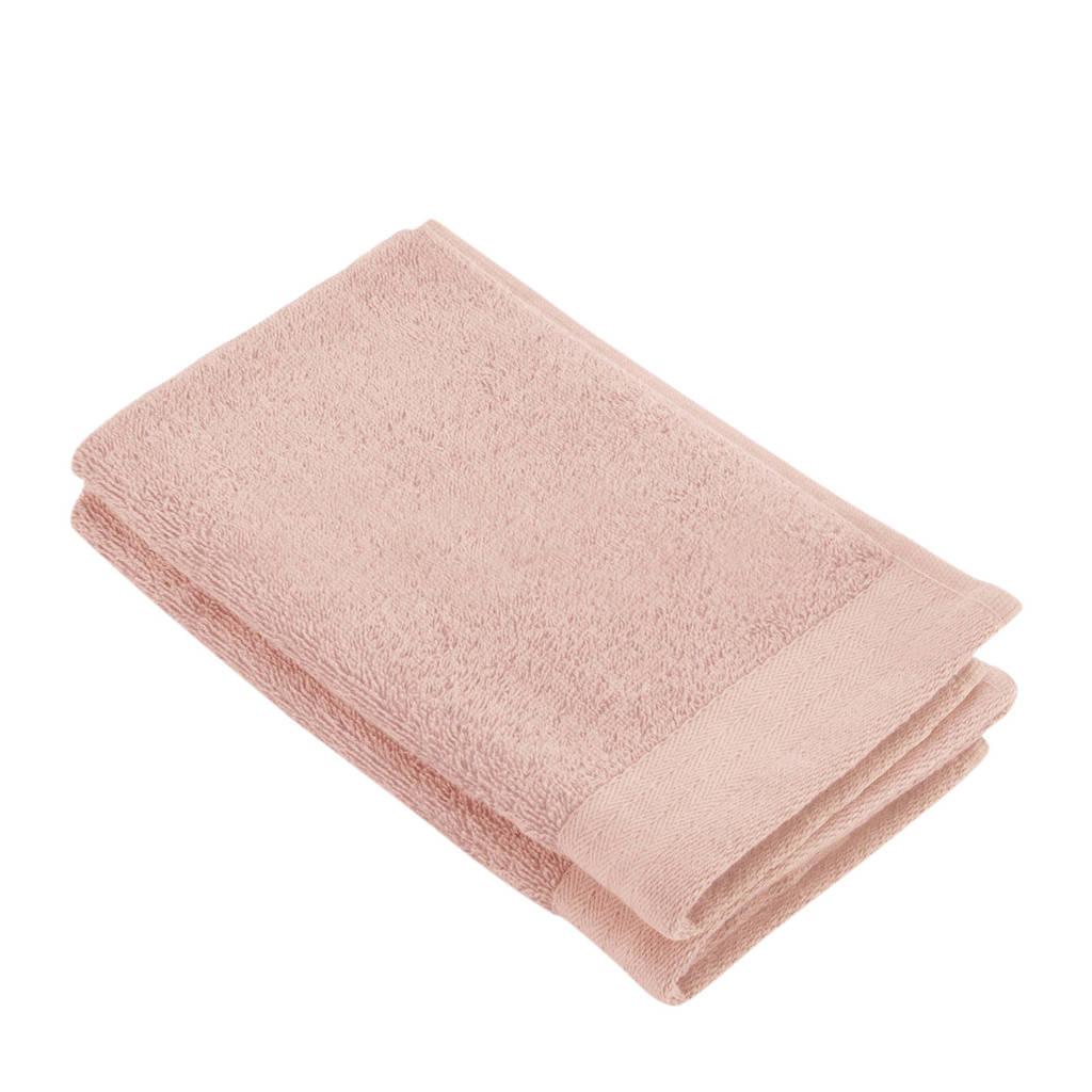 Walra gastendoek (set van 2) (30 x 50 cm) Roze
