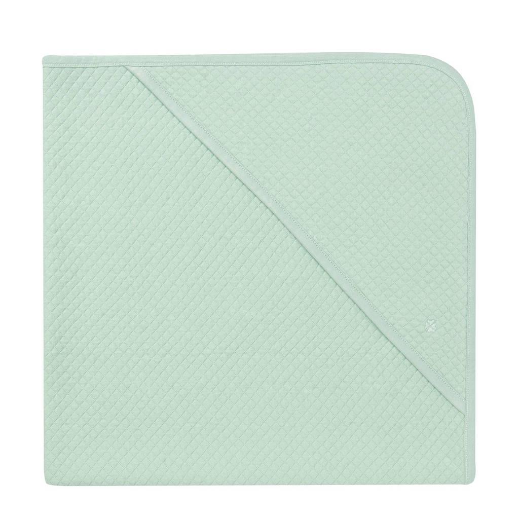 Noppies Nus badcape 75x75cm grey mint, Grey mint