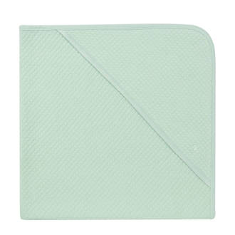Nus badcape 75x75cm grey mint