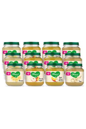 babyvoeding menu 4+ mnd fruit (12x 125 gr)